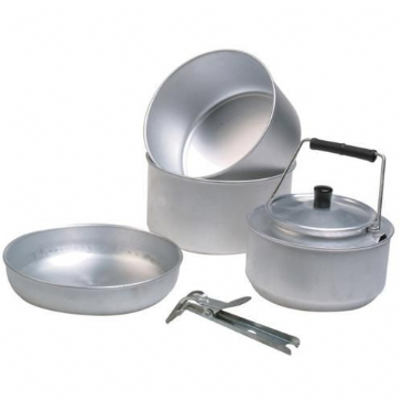 Sunncamp Trekker 5 Piece Camping Cooking Set